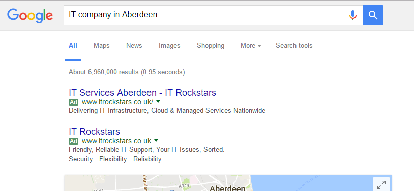 adwords-search-result